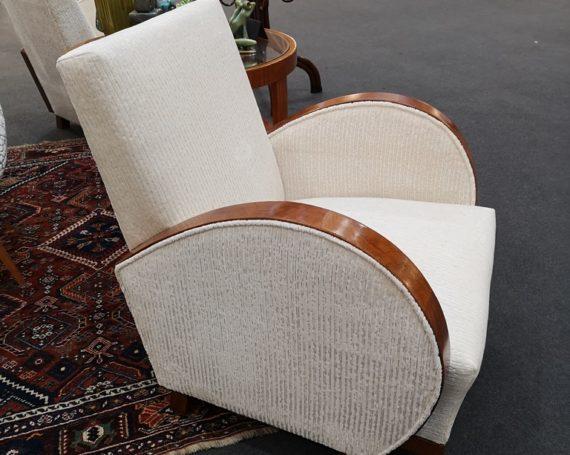 Austrian Art Deco armchairs