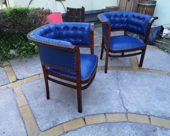 Jugendstil armchairs